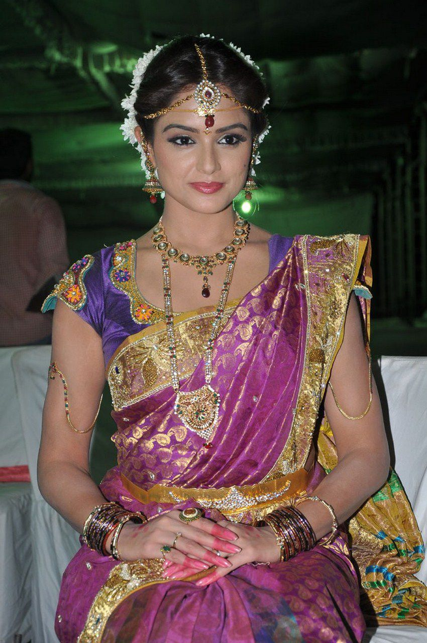 Asmita sood in saree